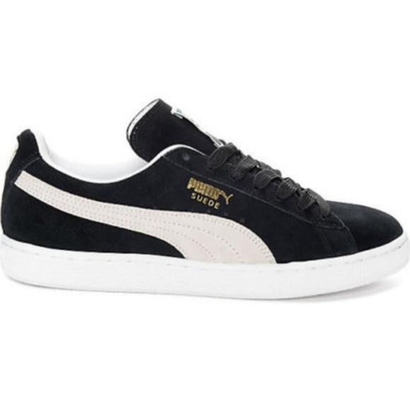 Women s PUMA Suede Classic + Black Shoes. M 5b99a04161974593cdb2c774 63bb441c7b